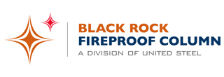 Black Rock Fireproof Column