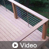 Pedestrian Cable Railings: Guardrails with Cable Infill